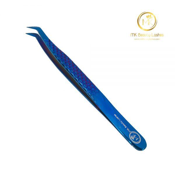 Tweezer Eyelash Extension Mk 01 Blue
