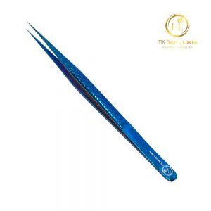 Tweezer Eyelash Extension Mk 06 Blue